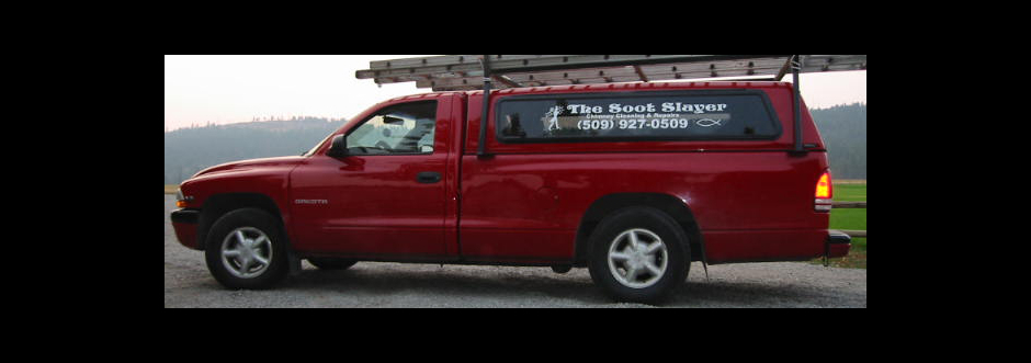The Soot Slayer Red Work Truck